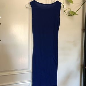 Dresses - Royal blue dress